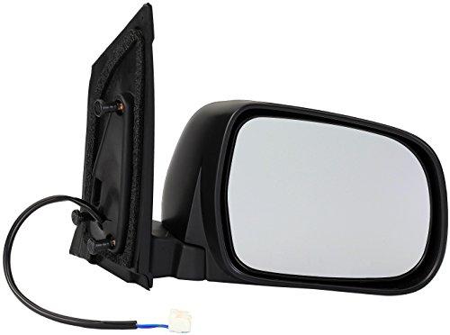 Dorman 955-1535 Passenger Side Power Door Mirror - Folding for Select Toyota Models, Black