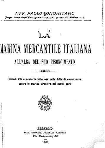 La Marina Mercantile Italiana All