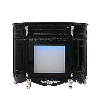 Amazon.com: Mesa de recepción iluminada LED para salón de ...