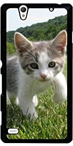 Funda para Sony Xperia C4 - Lindo Gato by WonderfulDreamPicture