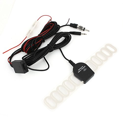 50 OHM Clear Blade External Digital TV Radio FM Antenna Aerial for Car