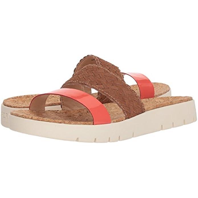 Sperry Women's Sunkiss Pearl Sandal Tan coral 6 Medium Us