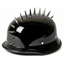 German Style Shiny Novelty Helmet with Spikes Size Small
