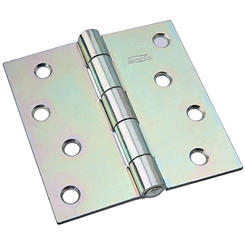 National Hardware N140-723 505BC Non-Removable Pin Hinge in Zinc plated (Pin Non Hinge Removable)