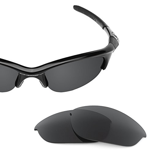 Revant Polarized Replacement Lenses for Oakley Half Jacket Stealth Black by Revant