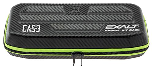 (Exalt Paintball Carbon Series Barrel Case - Black/Lime)