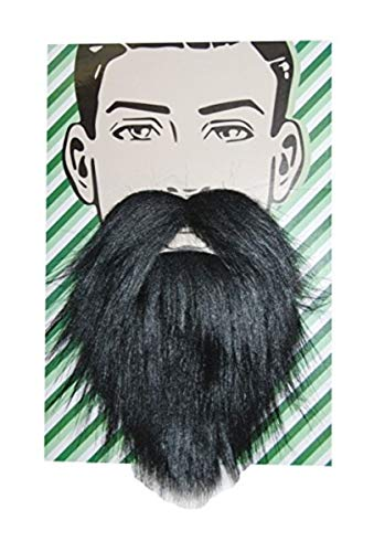 Sunstar Industries Self Adhesive Beard Mustache Halloween Costume Accessory (Logger -