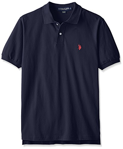 U.S. Polo Assn. mens Classic Polo Shirt (Color Group 1 of 2), Classic Navy, Large