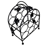 Pangaea Home and Garden BT-W058-K 8 Bottle Iron Wine Rack with Grape Vines Review