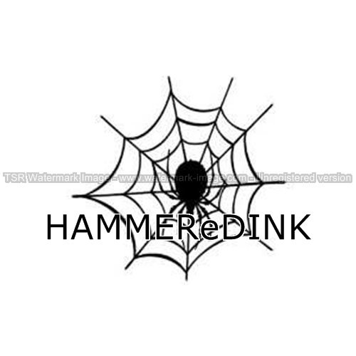 Spider Web Die Cut Vinyl Car & Truck Decal Window Sticker Hammered Ink