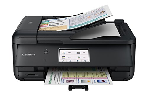 Canon PIXMA TR8520 Wireless All in One Printer | Mobile Printing | Photo and Document Printing, AirPrint(R) and Google Cloud Printing, Black