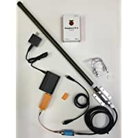 FlightAware ADS-B Complete System Raspberry + 1090MHz Antenna + USB + SMA Filter PiAware + 25ft RF Antenna Cable Track Planes