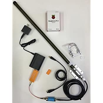 Amazon com: FlightAware Raspberry Pi + ADS-B PRO USB Stick + Band