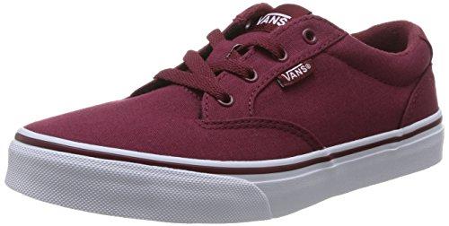 Vans Winston, Zapatillas Unisex Niños Rojo - Rouge (Cordov)