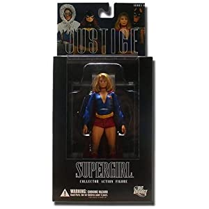 41Y6zypG%2BqL. SS300 Alex Ross Justice League 8: Supergirl Action Figure