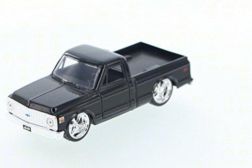 Pickup Cheyenne (1972 Chevy Cheyenne Pickup Truck, Black - Jada Toys Just Trucks 97009 - 1/32 scale Diecast Model Toy Car (Brand New, but NO BOX))