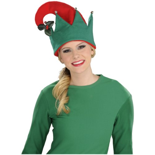 (Rubie's Mistletoe Hat, Red/Green, One)