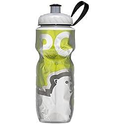 Polar Bottle Insulated Water Bottle (24-Ounce) (Green Big Bear)