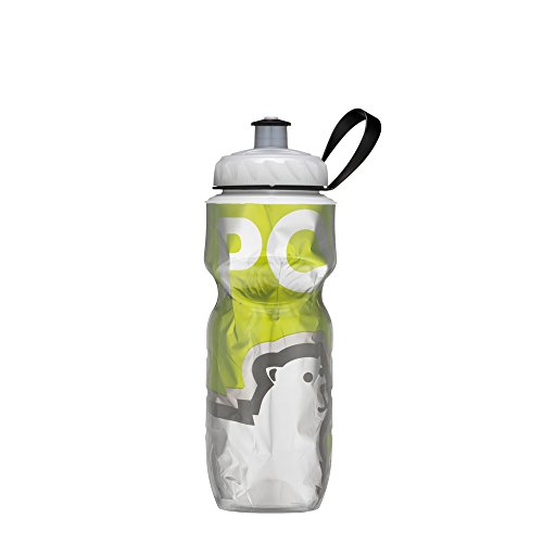 Polar Bottle Insulated Water Bottle (24-Ounce) (Green Big Bear)