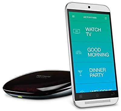 Logitech Harmony Hub for Smartphone Control of 8 Home Entertainment and Automation Devices