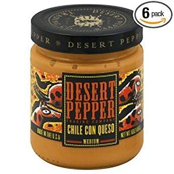 Desert Pepper Trading Con Queso Chile, 16 Ounce - 6 per case.