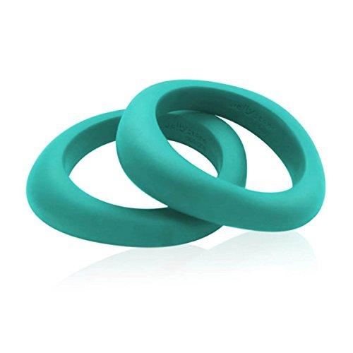 Jellystone Organic Bangle, Turquoise Baja Green Bangles Trendy Jewelry