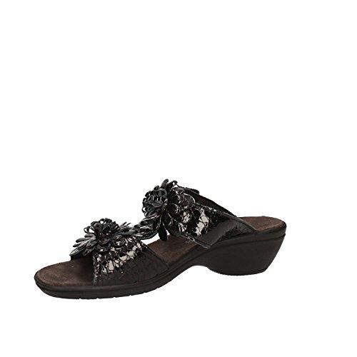Enval Sandalo Damen Schwarz 7971 Klettverschluss ZrqUxnZS5