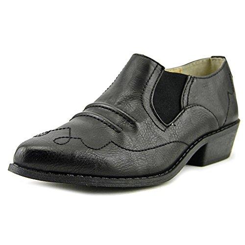 Dolce Par Mojo Moxy Latigo Femmes Nous 7 Mocassins Noirs. chaussures;  synthétique; semelle synthétique ...