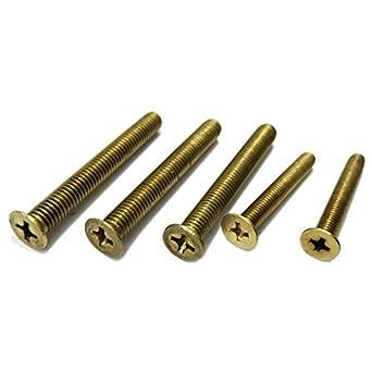 Coarse Hex Nut 5mm 6mm 7mm 8mm 10mm 12mm 16mm Metric Hexagon Brass Full Nuts
