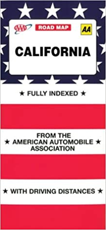 Aaa California Map.Aaa Map California Aaa Road Map American Automobile Association