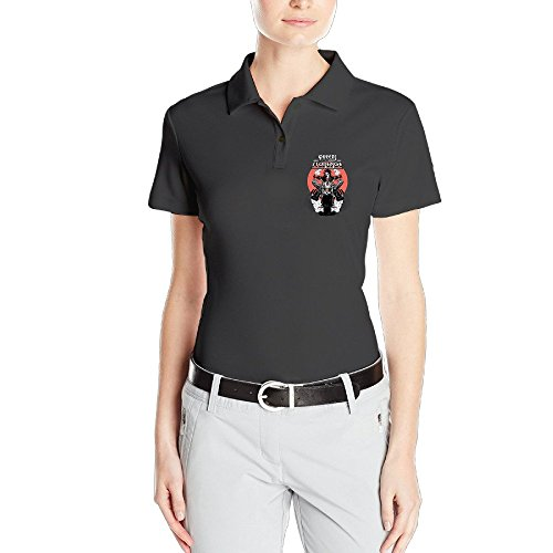 Perfect,awesome,womens,customized Queens Of The Stone Age Band Burn The Witch Graphic Polos Shirts Polo Collared Shirt