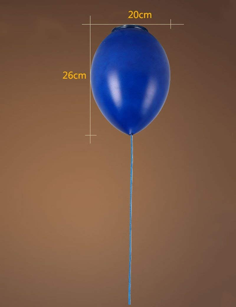 HYW Deckenleuchte - kreative Persönlichkeit Glasschirm Farbe Ballon Deckenleuchten Wohnzimmer Schlafzimmer Kinderzimmer Eingang Balkon Deckenleuchten -Home warme Deckenleuchte,3-20cm