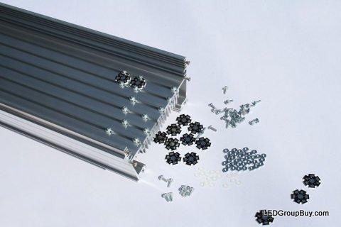 MakersLED Designer Heatsink Kit - Professional Grade - Anodized 36 Inches by LEDGroupBuy (Image #4)