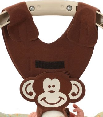 Brown Baby Sling - Hands Free Baby Bottle Feeding Tool - Brown Monkey Baby Bottle Holder by Bebe Bottle Sling
