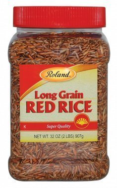 Roland Long Grain Red Rice 32 Oz (6 Pack) by Roland
