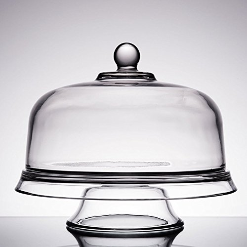 Anchor Hocking Presence 4-in-1 Cake Set, Dome & Platter