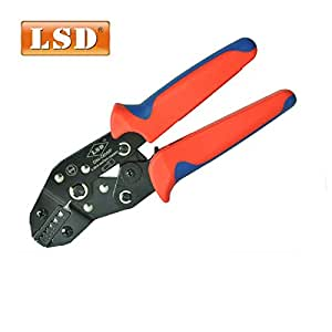 Terminal Crimping Tool Ratchet bootlace Ferrule Crimper DN-06WF 0.25-6mm2 Cord end terminals Crimping plier