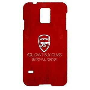 Samsung Galaxy S3 Case 3D Arsenal Football Club Quote You Can'T Buy Class, Be Faithful Forever Popular Back Cover Case