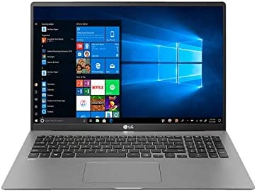LG Gram 17-inch WQXGA Ultra-Lightweight Laptop Intel Core i7-1065G7 16GB RAM 512GB SSD