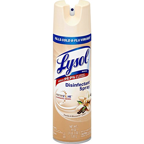 Lysol Disinfectant Spray, Vanilla Blossoms, 19oz