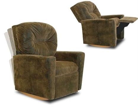 Awesome Dozydotes Contemporary Kid Rocker Recliner Bomber Inzonedesignstudio Interior Chair Design Inzonedesignstudiocom