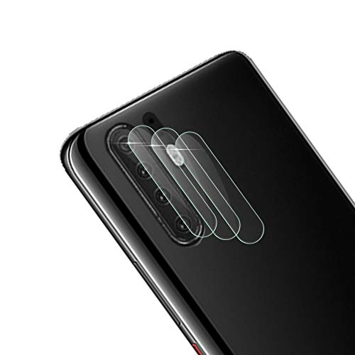 (Qoosea Compatible with Huawei P30 pro Camera Lens Protector Huawei P30 pro Case Friendly(3 Pack) Clear Glass Protector Ultra-Thin HD 9H Hardness Anti-Scratch Easy Bubble-Free Installation)
