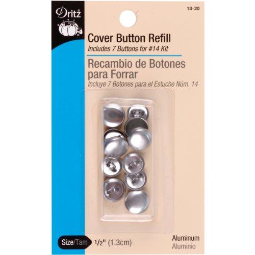 Cover Button Refill (Dritz Cover Button Refill Size 20 7 pc-1/2