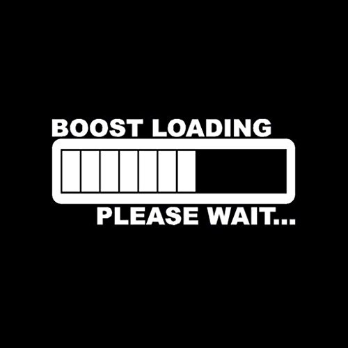 Boost Loading JDM Illest Low Rider Vinyl Decal Sticker|WHITE|Cars Trucks SUV Laptops Tool Box Wall Art|5.5