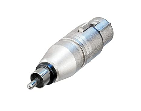 Rcpt vers RCA//phono Plug NA2FPMM par Neutrik Adaptateur XLR