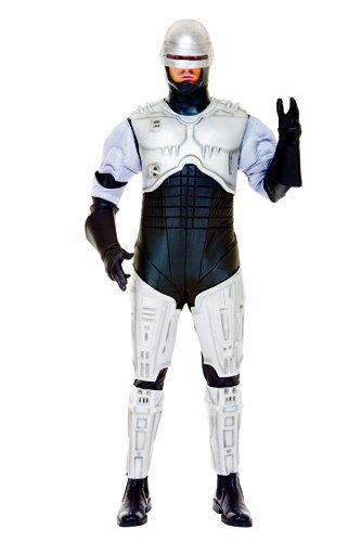 Paper Magic Men's RoboCop Costume, Silver,