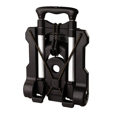Compact Travel Tool - Samsonite Compact Folding Luggage Cart, Black