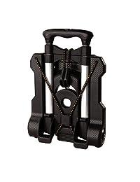 Samsonite - Carrito plegable para equipaje, Negro, Una talla