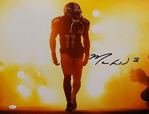 Markus Wheaton Signed Autograph Pittsburgh Steelers 16x20 In Lights Photo- JSA Certified