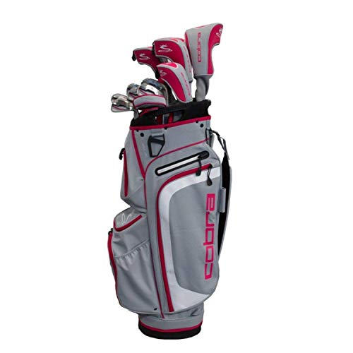 te Set Silver-Rasberry (Women's, Right Hand, Graphite, Ladies Flex) ()